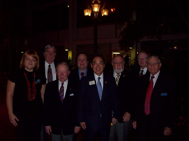 Paulina Bounds, Bill Seagers, Terry Caven, Tom Williams, Dr. Tam, Jim Allison, Tom Davis, J. B. Weaver